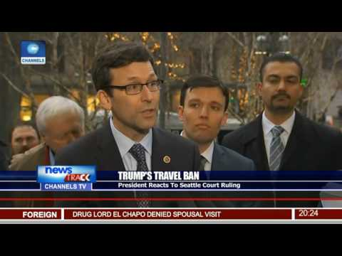 Trump's Travel Ban: Presidency Reacts To Seattle Court Ruling