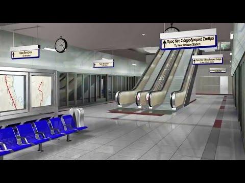 Σε μακέτα συνεχίζεται το μετρό Θεσσαλονίκης...