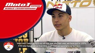 Interview Raúl Fernández Moto3™ Junior World Champion 2018