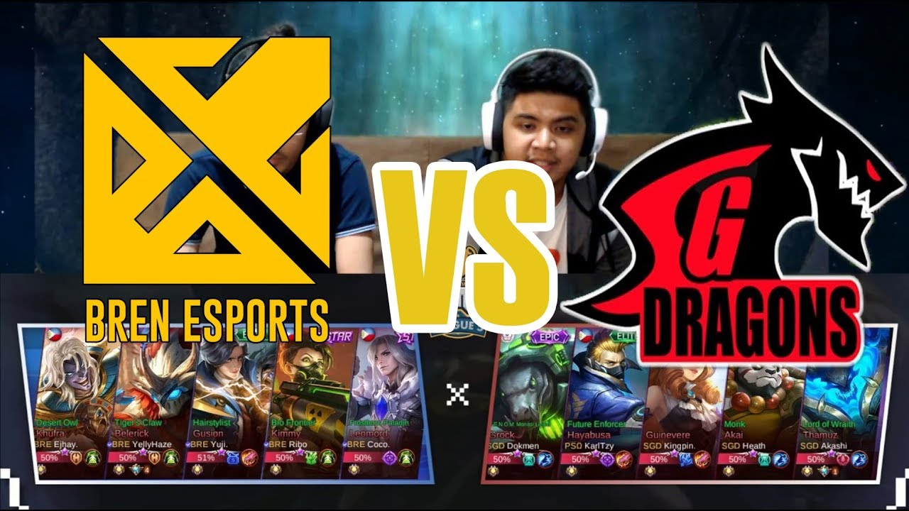 Grand Finals Sgd Omega Vs Bren Esports Just Ml League 5 Youtube