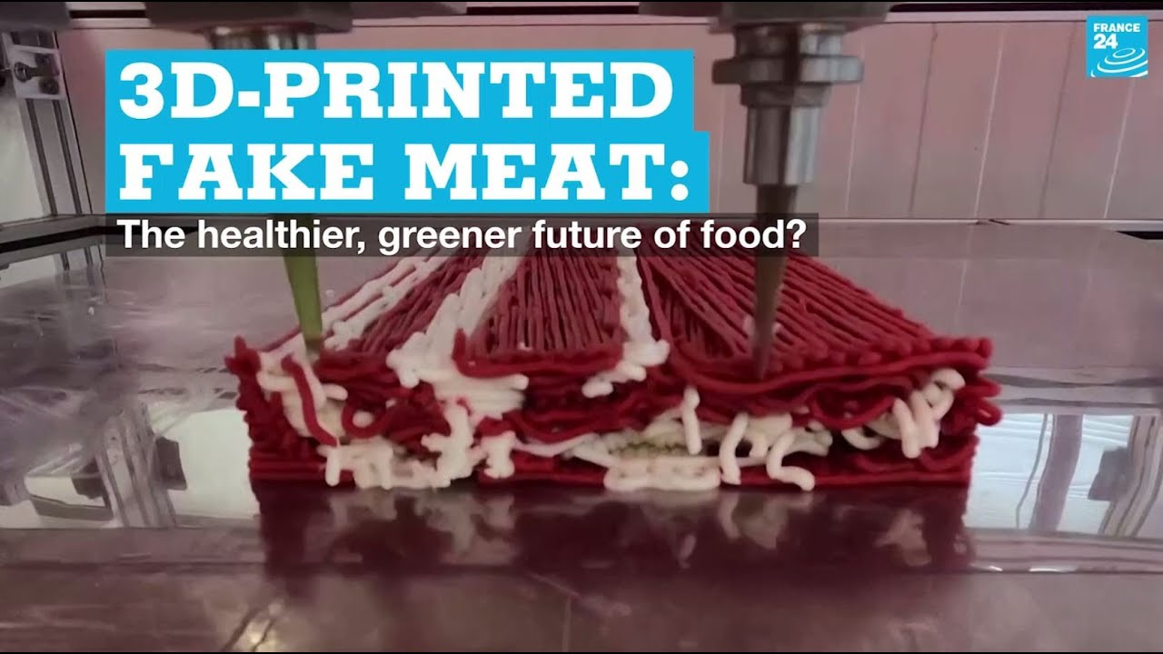 How Do You Like Your Juicy Sirloin Steaks Hot Off A 3D Printer?