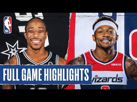 SPURS at WIZARDS | FULL GAME HIGHLIGHTS | November 20, 2019