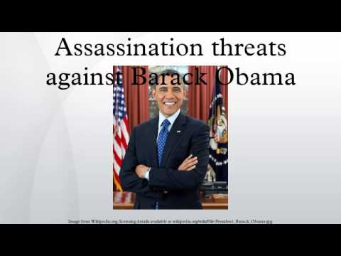 Assassination threats against Barack Obama