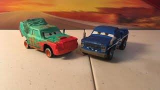 Disney Pixar cars 3 Pileup and Broadside diecast review