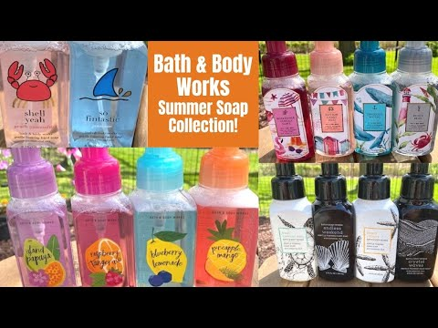 Bath & Body Works NEW Summer Hand Soap Collection Review