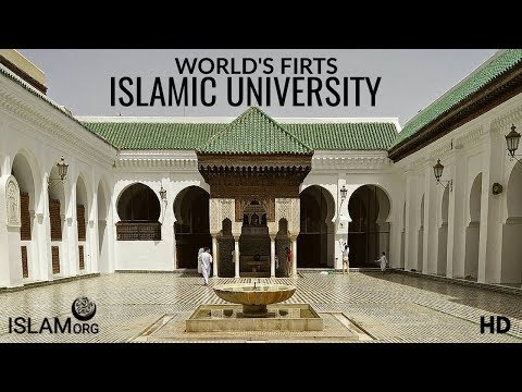 WORLD FIRST ISLAMIC | UNIVERSITY  | of Al Quaraouiyine