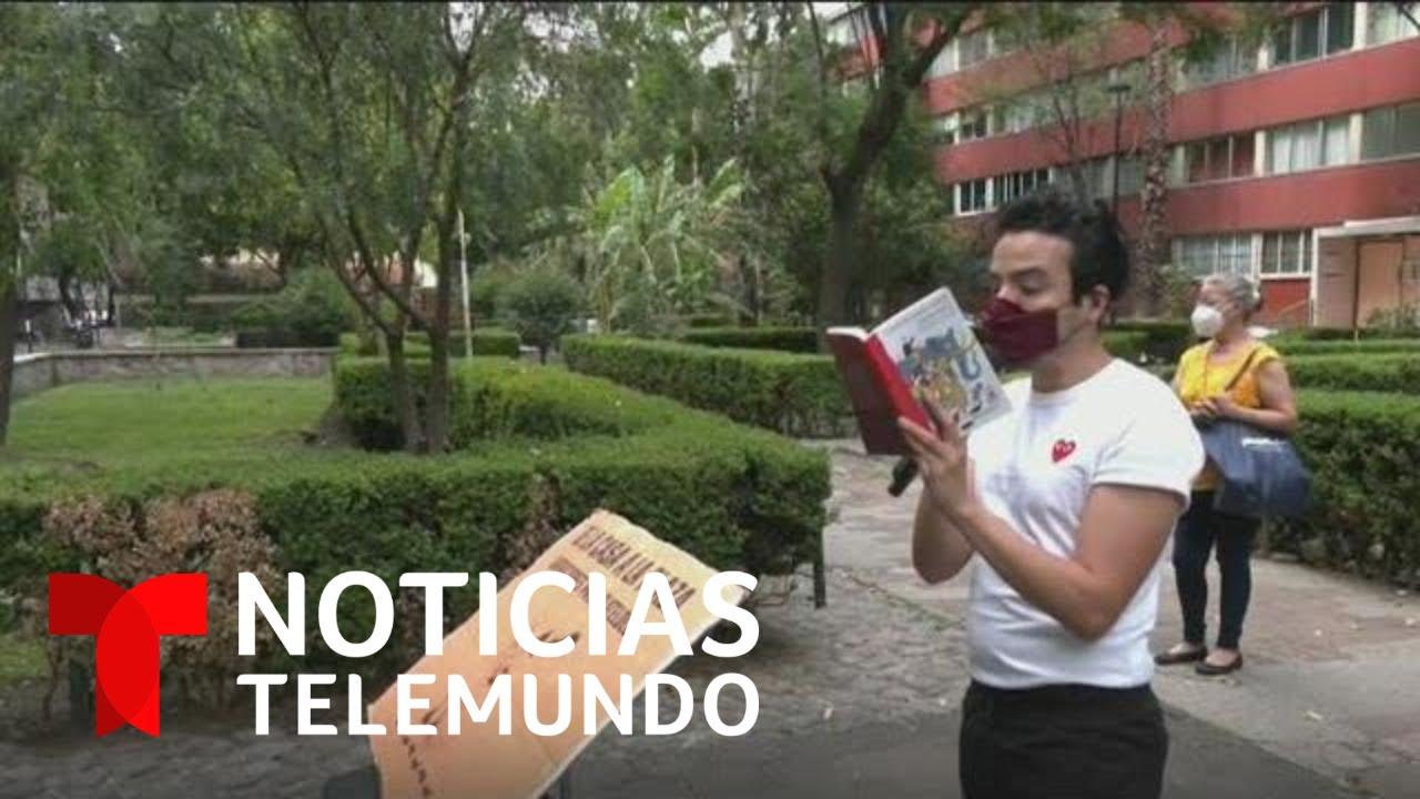 Conoce al arquitecto que lleva alegría a niños en cuarentena | Noticias Telemundo