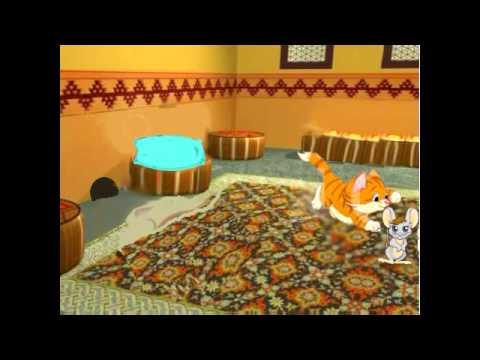 Сказка кот и мышь смотреть