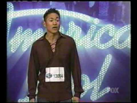 American Idol Season 2  James Visperas from Innerlude singing My Girl Interview Ryan Seacrest