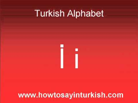 turkish writing Learn how to pronounce each letter of the turkish alphabet.