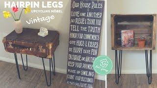 Hairpin Legs - Tischbeine - DIY Anleitung - Tisch selber bauen - Beistelltisch - Side & Coffee Table