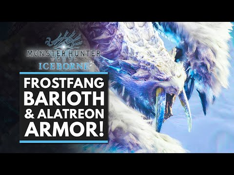 Monster Hunter World Iceborne New Frostfang Barioth Crazy