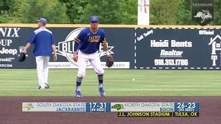 Baseball vs North Dakota State Highlights (05.25.2018)