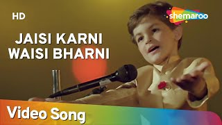 Jaisi Karni Waisi Bharni Title Song - Neil Nitin Mukesh - Nitin Mukesh - Rajesh Roshan - Hindi Song