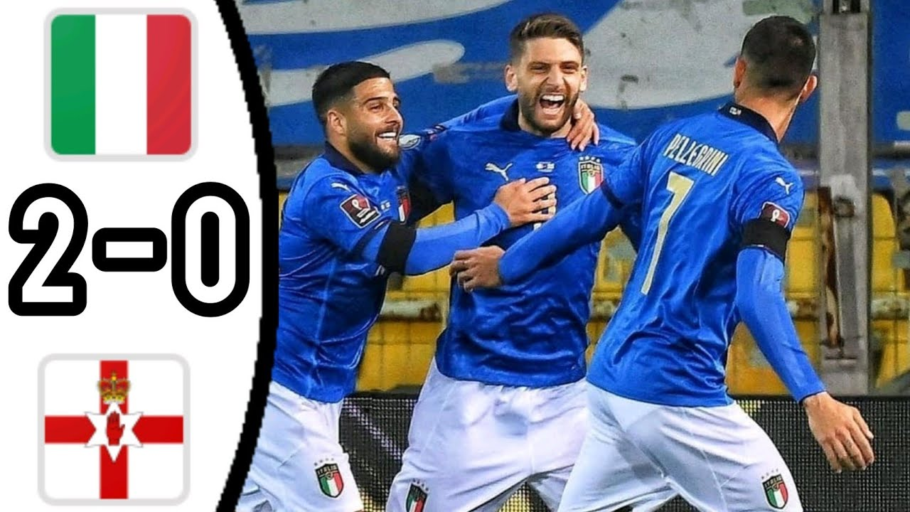 Download ITALY VS NORTHERN IRELAND, 2 - 0/ ALL GOALS AND EXTENDED HIGHLIGHTS/ WORLD CUP QUALIFIERS