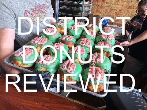 Reviewed. S1 EP6   District Donuts on Magazine St., New Orleans