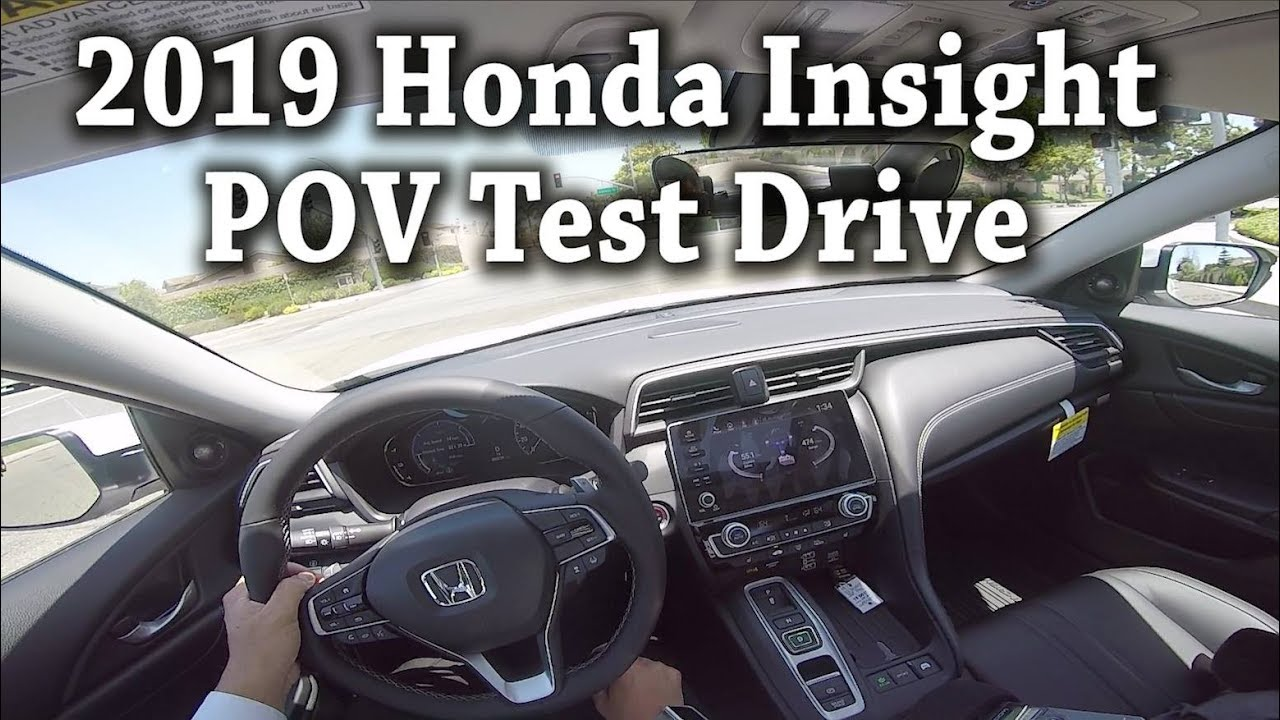2019 honda insight pov test drive road noise youtube. Black Bedroom Furniture Sets. Home Design Ideas