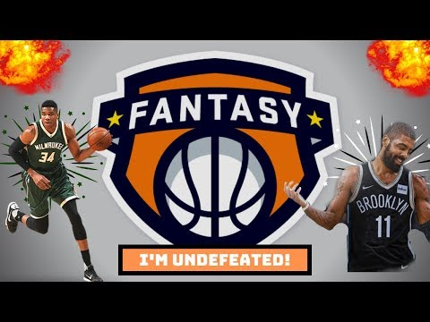 HOW TO GO UNDEFEATED IN FANTASY BASKETBALL | ESPN Fantasy Basketball