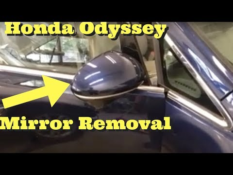 2011 2012 2013 2014 2015 2016 2017 Honda Odyssey -- Mirror Removal Install Replace How to Remove