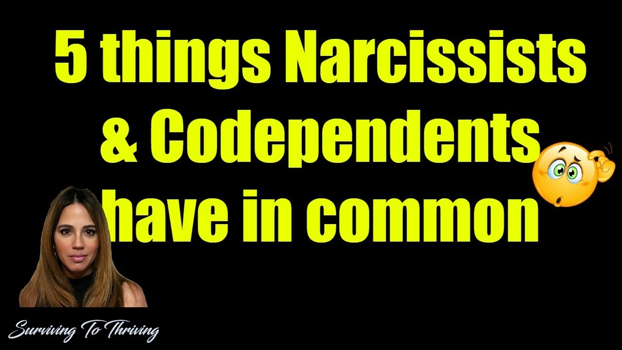 How to stop being codependent with a narcissist