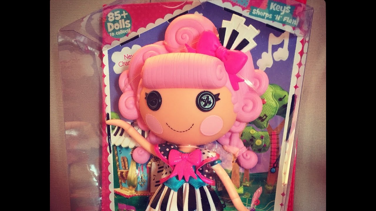 Lalaloopsy Keys Sharps 'N' Flats Doll Unboxing & Review from the New Movie ...