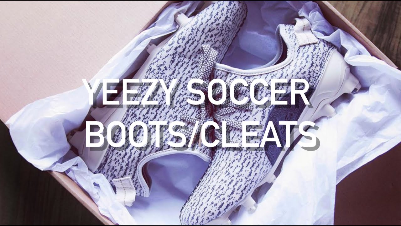 5754dcf2aa538 Adidas Yeezy Soccer Boots