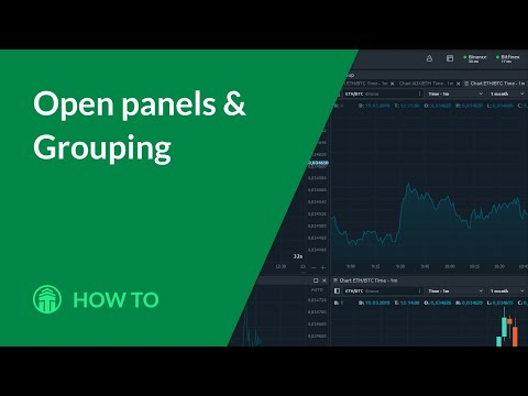 How to: Open panels & grouping