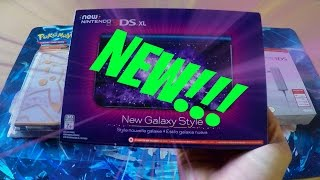 Hey guys! Opening the New 3DS XL Galaxy Edition! Epic games and cov...