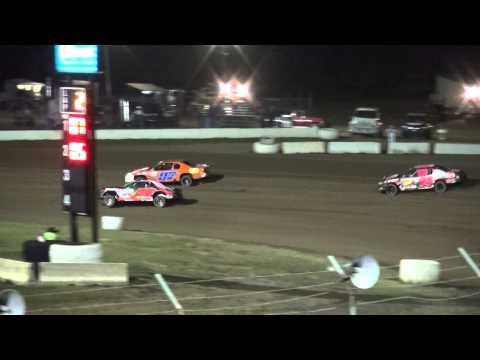 IMCA Stock Car heat 2 34 Raceway 9/19/15