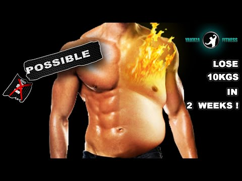 LOSE 10KGS IN 2 WEEKS! BURN 1KG OF FAT EVERY DAY! – THE 9 MINUTES OF EXTREME FAT DESTROYER PROGRAM