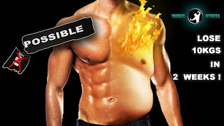 Repeat youtube video LOSE 10KGS IN 2 WEEKS! BURN 1KG OF FAT EVERY DAY! - THE 9 MINUTES OF EXTREME FAT DESTROYER PROGRAM