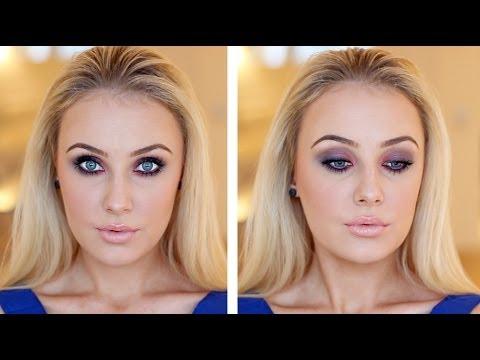 Smokey Eye Look For Brown Amp Green Eyes Youtube