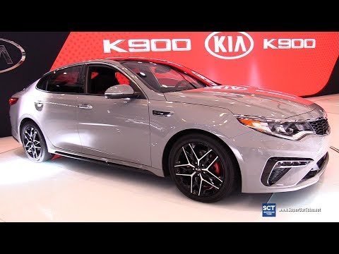 2019 KIA Optima Turbo Exterior and Interior Walkaround Debut 2018 New York Auto Show
