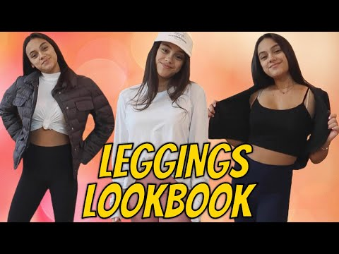 How To Style Leggings Lookbook | Cute Outfit Ideas