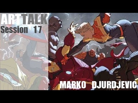 ArtTalk: Session 17 with Marko Djurdjevic
