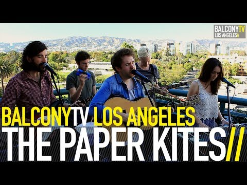 THE PAPER KITES - ST. CLARITY (BalconyTV)