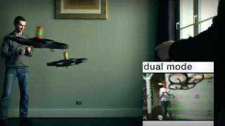 Parrot AR Drone   Augmented Reality Video Games Demo HD version HQ