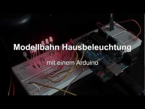 Modellbahn Hausbeleuchtung.mpg - YouTube