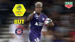 But Aaron LEYA ISEKA (79') / Toulouse FC - AS Monaco (1-1)  (TFC-ASM)/ 2018-19