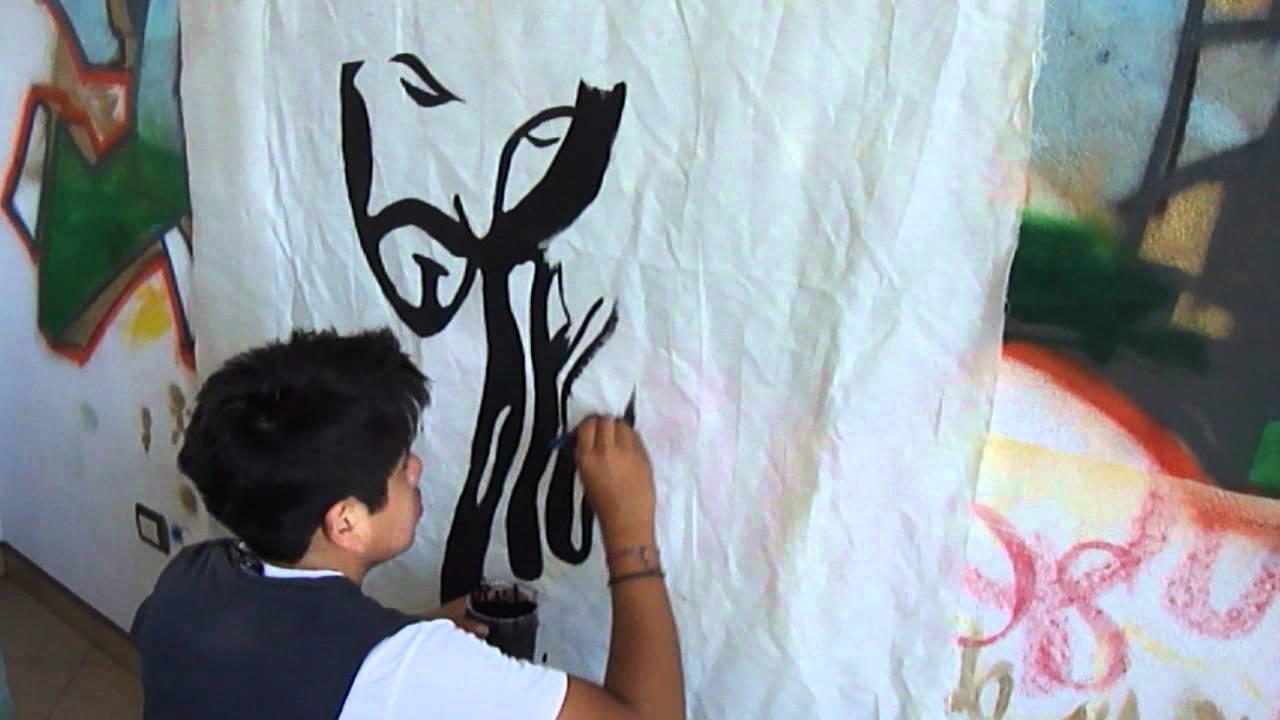 graffiti caracter vector rostro de jesuswmv  YouTube