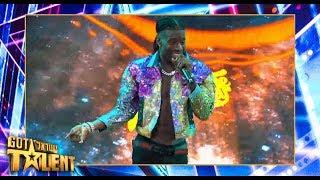 עכשיו דממה, סטפן על הבמה: הביצוע המלא של הכוכב לשיר ״Merci״