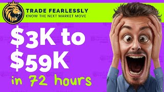 #TradingOptionsLIVE: How I Turned 3k to 59k in (72 hours) Trading Weekly Options