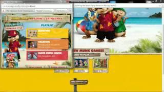 Игры Элвин и бурундуки
