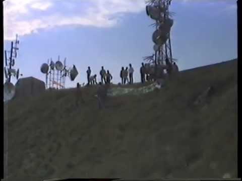 Parapendio a Monte Leco 1° parte GE 27 MAG 1989