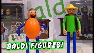 Baldi's Basics OFFICIAL Articulated Action Figures Set MEGA PREVIEW!!