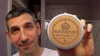 "Timeless Razor Brass Razor - Bufflehead ""Velvet Ditch"" shave soap - Chatillon Lux aftershave"