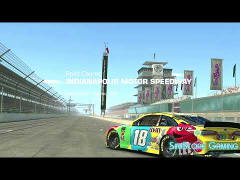 Real Racing 3 On The Apple TV 4K - Some Nascar Races