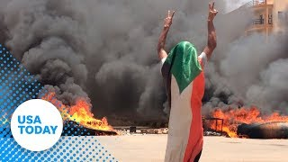 Sudan uprising: 100 reportedly killed | USA TODAY