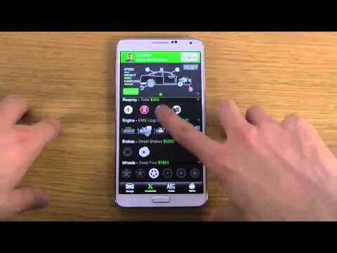 GTA 5 V iFruit App Android Samsung Galaxy Note 3 Review