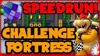 SPEEDRUN: Challenge Fortress - Super Mario Maker Online